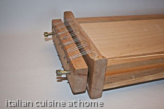 how to make chitarra pasta